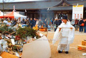 日岡神社とんど祭